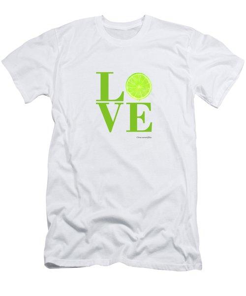 Love Lime Men's T-Shirt (Athletic Fit)