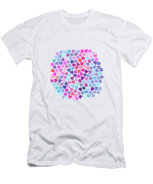 Love Love Love Men's T-Shirt (Slim Fit) by Amir Faysal