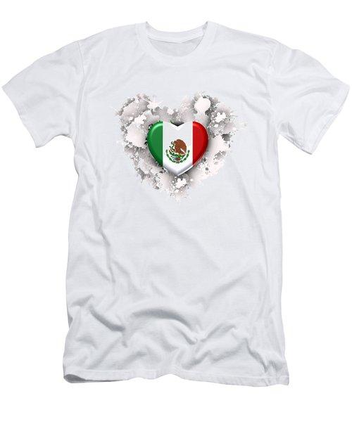 Love Mexico.1 Men's T-Shirt (Athletic Fit)