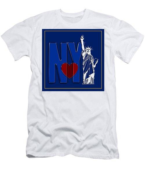 Love New York Men's T-Shirt (Athletic Fit)