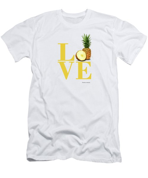 Love Pineapple Men's T-Shirt (Athletic Fit)