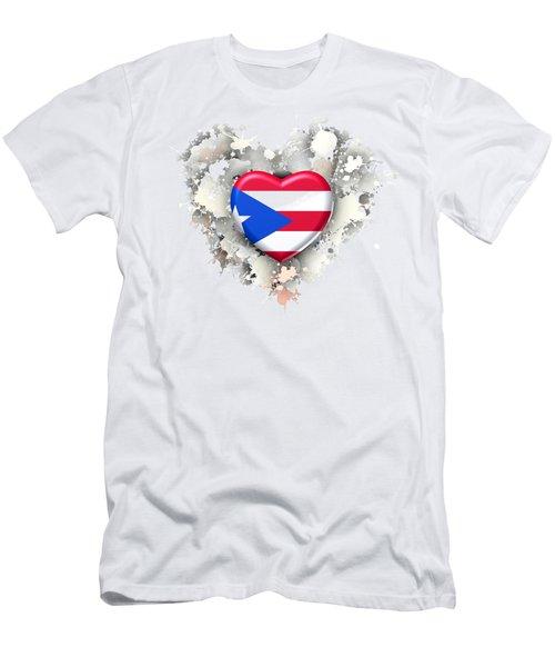 Love Puerto Rico.2 Men's T-Shirt (Athletic Fit)