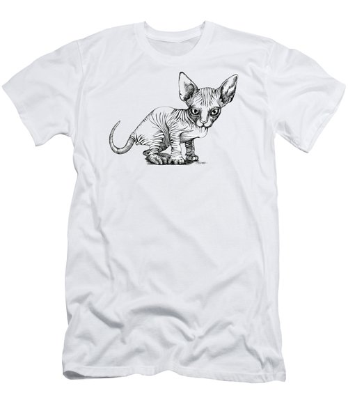 Love Sphynx Men's T-Shirt (Slim Fit) by Akiko Okabe