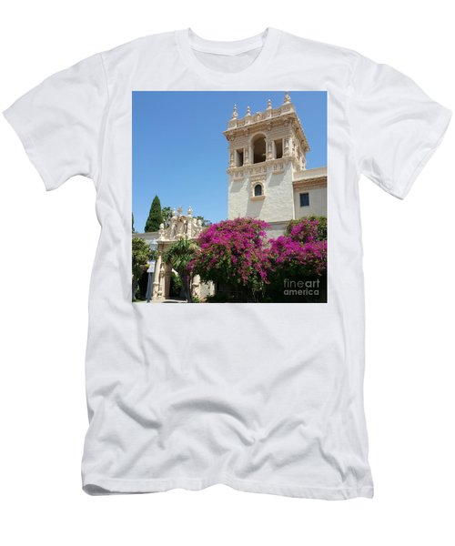 Lovely Blooming Day In Balboa Park San Diego Men's T-Shirt (Slim Fit) by Jasna Gopic