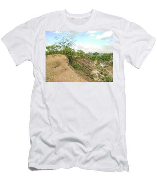 Men's T-Shirt (Slim Fit) featuring the photograph Lovers Forever by Beto Machado