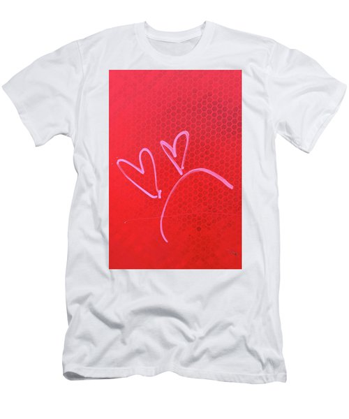 Men's T-Shirt (Slim Fit) featuring the photograph Love's Disappointments by Art Block Collections