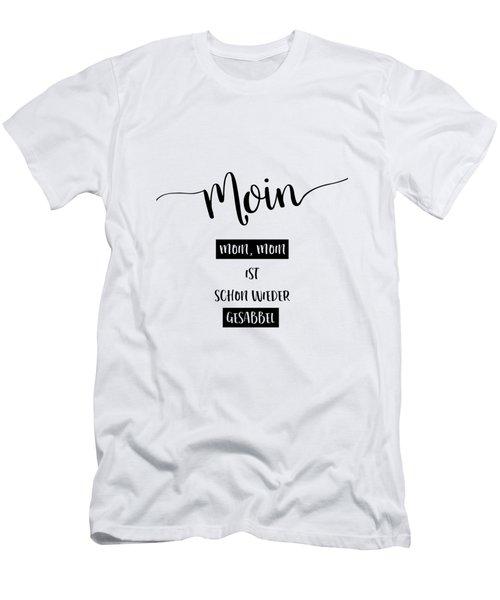 Low German Saying - Moin Men's T-Shirt (Athletic Fit)