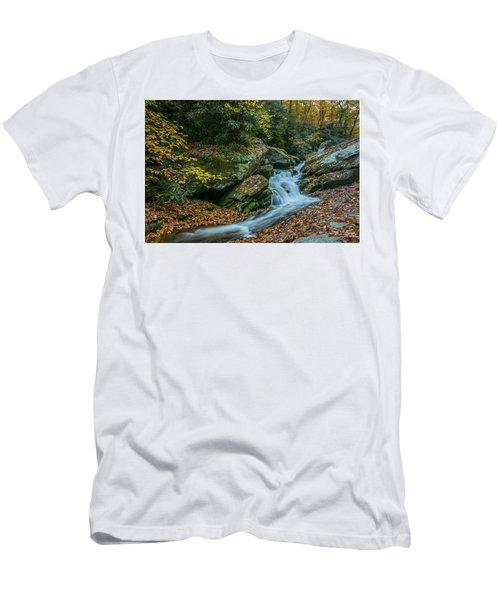 Lower Upper Creek Falls Men's T-Shirt (Athletic Fit)