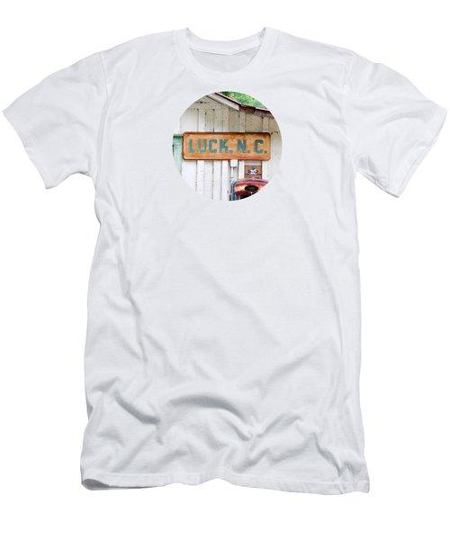 Luck Nc T Shirt Men's T-Shirt (Athletic Fit)