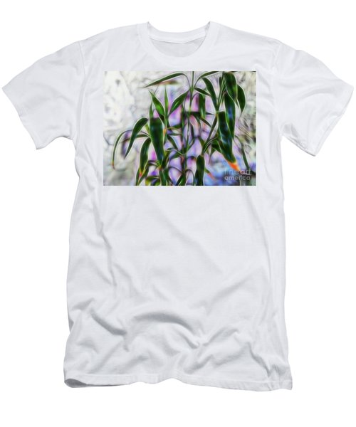 Lucky Bamboo Men's T-Shirt (Athletic Fit)