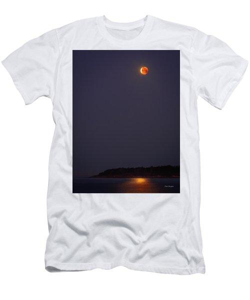 Lunar Eclipse - January 2018 Men's T-Shirt (Athletic Fit)