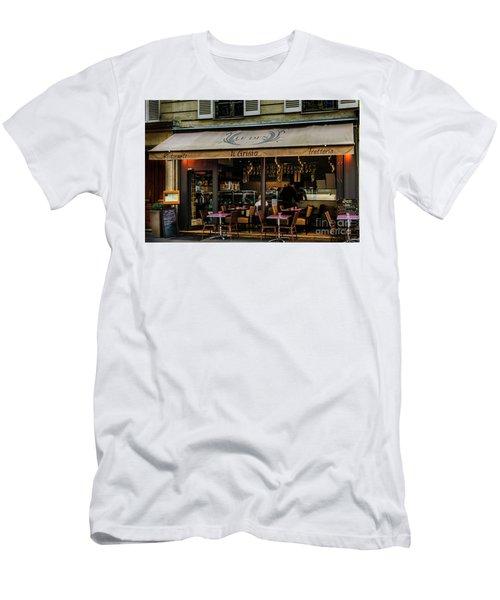 Lunch In Paris Men's T-Shirt (Athletic Fit)