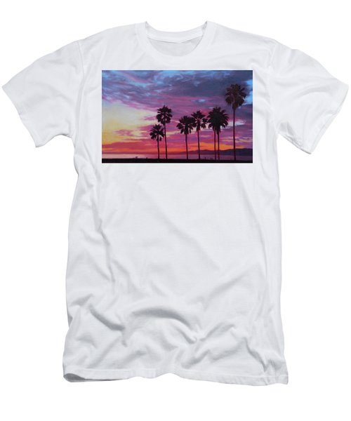Men's T-Shirt (Slim Fit) featuring the painting Lush by Andrew Danielsen