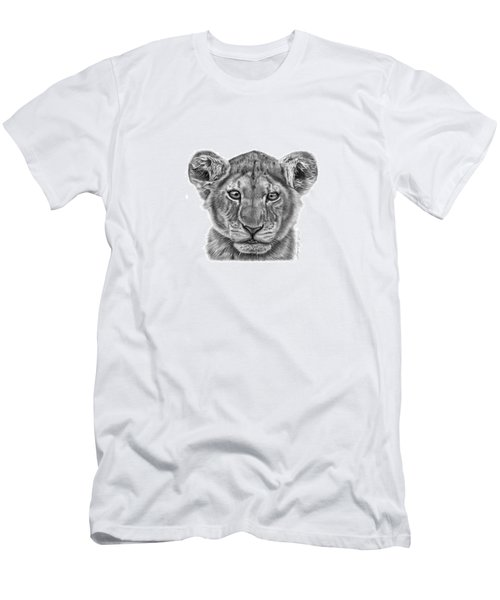 Lyla The Lion Cub Men's T-Shirt (Athletic Fit)