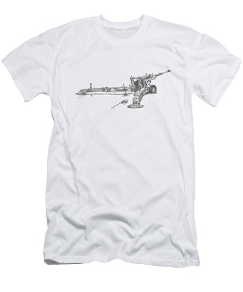 M198 Howitzer - Standard Size Prints Men's T-Shirt (Athletic Fit)