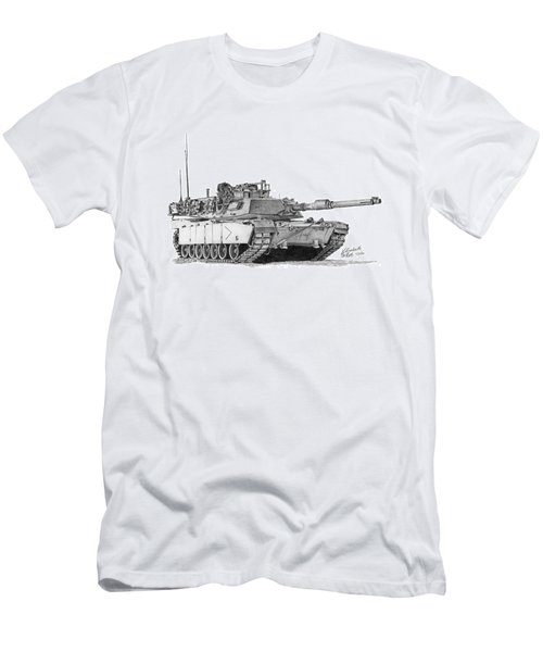 M1a1 B Company Commander Tank Men's T-Shirt (Athletic Fit)