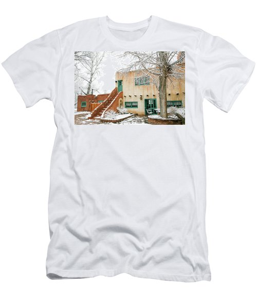 Men's T-Shirt (Slim Fit) featuring the photograph Mabel Dodge House 2 by Marilyn Hunt