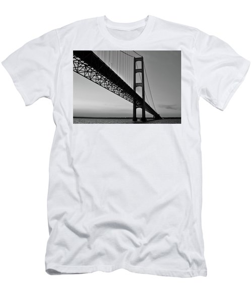 Mackinac Bridge At Sunset Men's T-Shirt (Athletic Fit)