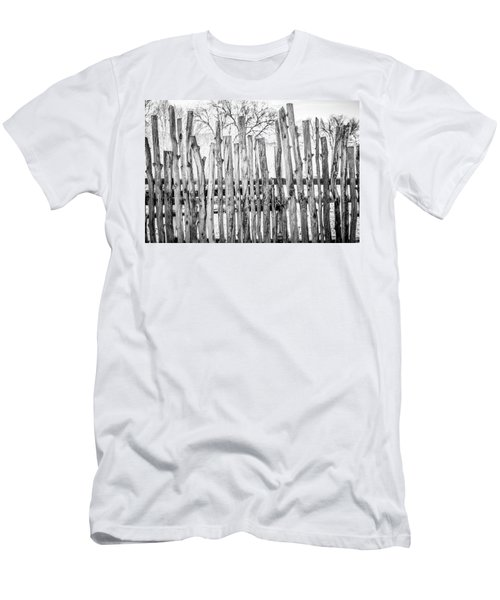 Men's T-Shirt (Slim Fit) featuring the photograph Made From Nature by Marilyn Hunt