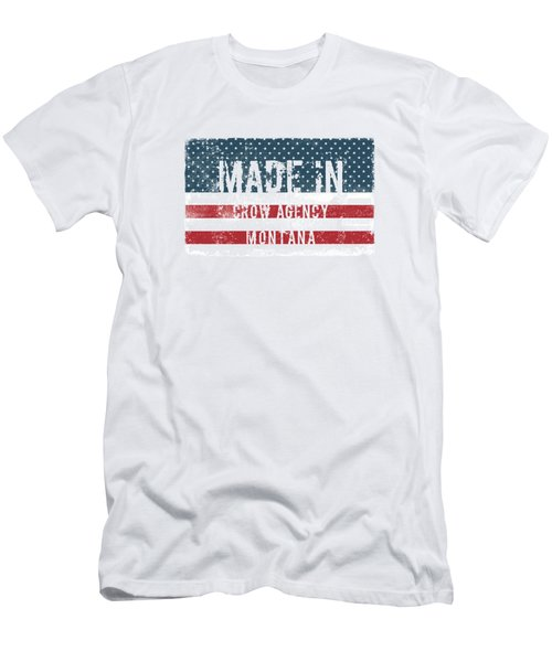 Made In Crow Agency, Montana Men's T-Shirt (Athletic Fit)