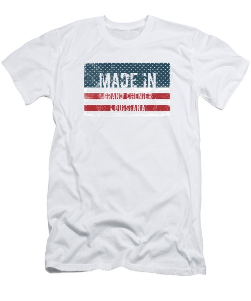 Made In Grand Chenier, Louisiana Men's T-Shirt (Athletic Fit)