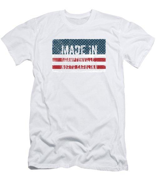 Made In Hamptonville, North Carolina Men's T-Shirt (Athletic Fit)