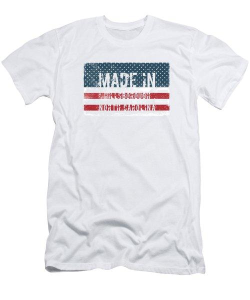 Made In Hillsborough, North Carolina Men's T-Shirt (Athletic Fit)