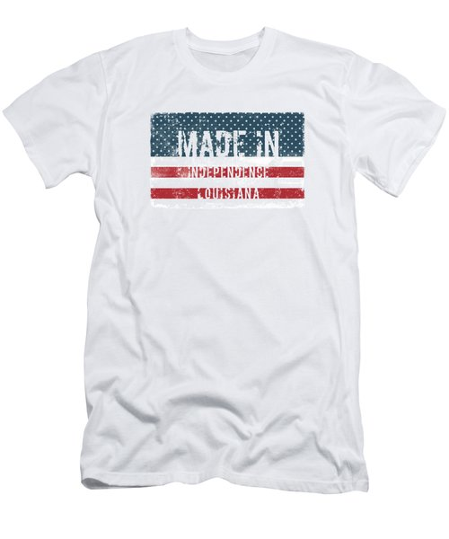 Made In Independence, Louisiana Men's T-Shirt (Athletic Fit)
