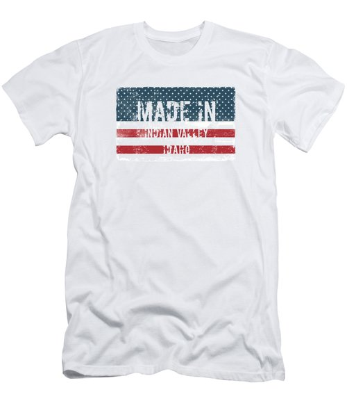 Made In Indian Valley, Idaho Men's T-Shirt (Athletic Fit)