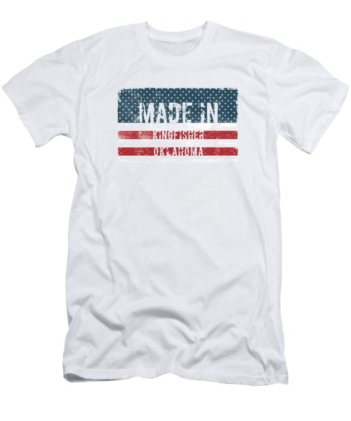 Made In Kingfisher, Oklahoma Men's T-Shirt (Athletic Fit)
