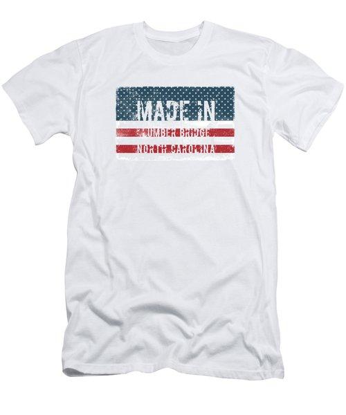 Made In Lumber Bridge, North Carolina Men's T-Shirt (Athletic Fit)