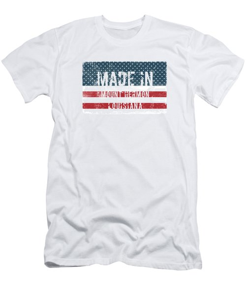 Made In Mount Hermon, Louisiana Men's T-Shirt (Athletic Fit)