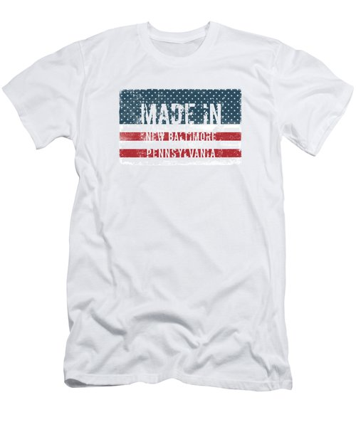 Made In New Baltimore, Pennsylvania Men's T-Shirt (Athletic Fit)
