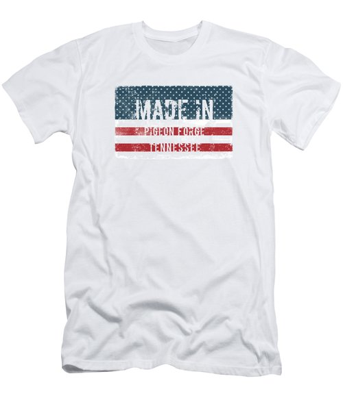 Made In Pigeon Forge, Tennessee Men's T-Shirt (Athletic Fit)