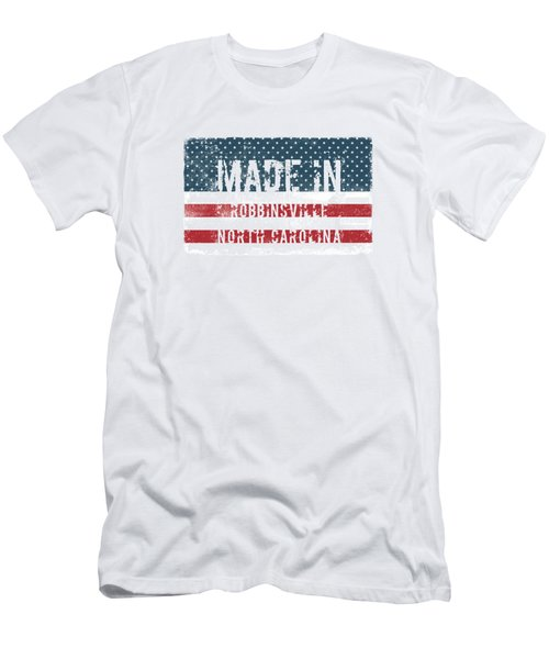 Made In Robbinsville, North Carolina Men's T-Shirt (Athletic Fit)