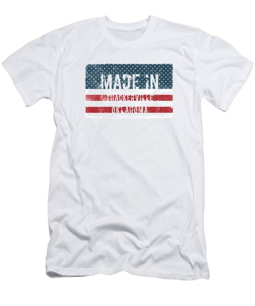 Made In Thackerville, Oklahoma Men's T-Shirt (Athletic Fit)
