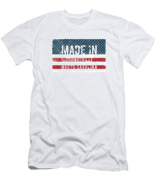 Made In Thomasville, North Carolina Men's T-Shirt (Athletic Fit)