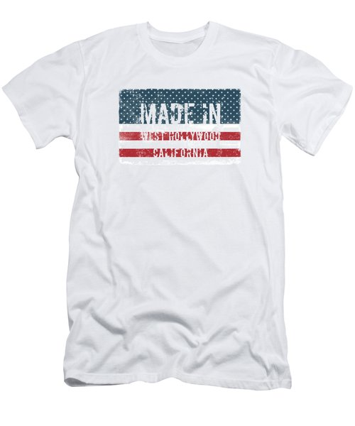 Made In West Hollywood, Ca Men's T-Shirt (Athletic Fit)