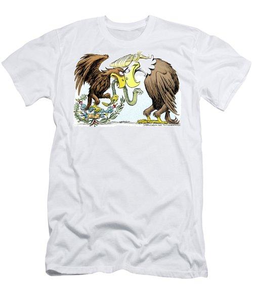Maga Vs Mexico Men's T-Shirt (Athletic Fit)