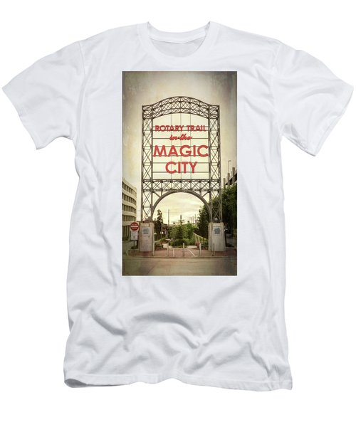 Magic City Rotary Trail - #1 Men's T-Shirt (Athletic Fit)