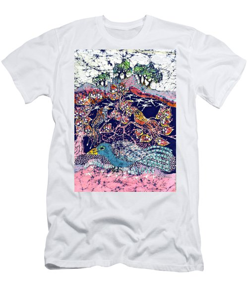 Magical Birds Men's T-Shirt (Athletic Fit)