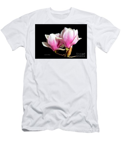 Magnolias In Spring Bloom Men's T-Shirt (Athletic Fit)