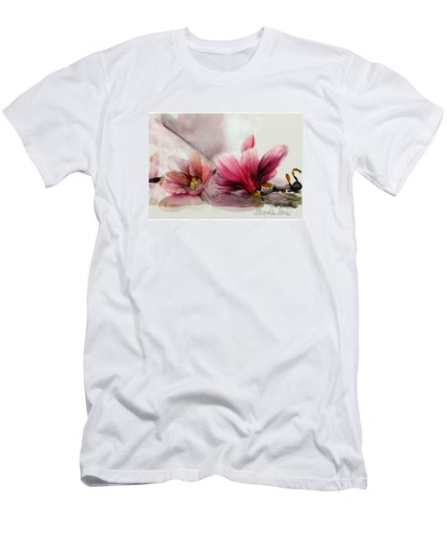 Magnolien .... Men's T-Shirt (Slim Fit) by Jacqueline Schreiber