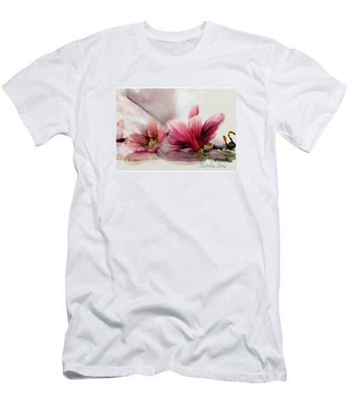 Magnolien .... Men's T-Shirt (Athletic Fit)