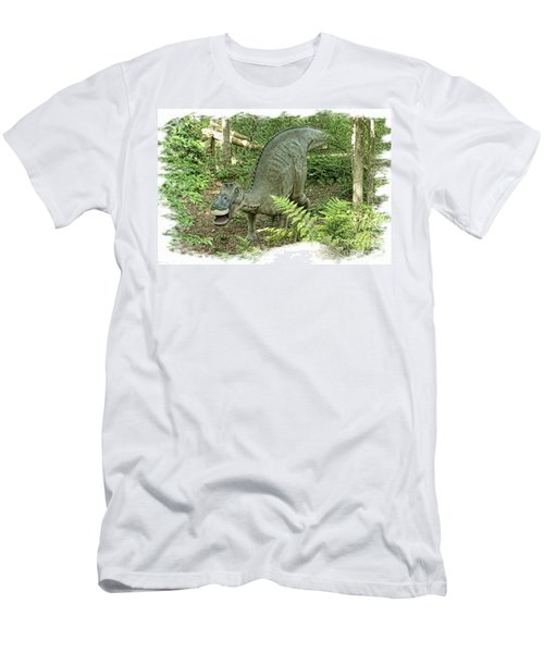 Maiasaura Poster Men's T-Shirt (Athletic Fit)