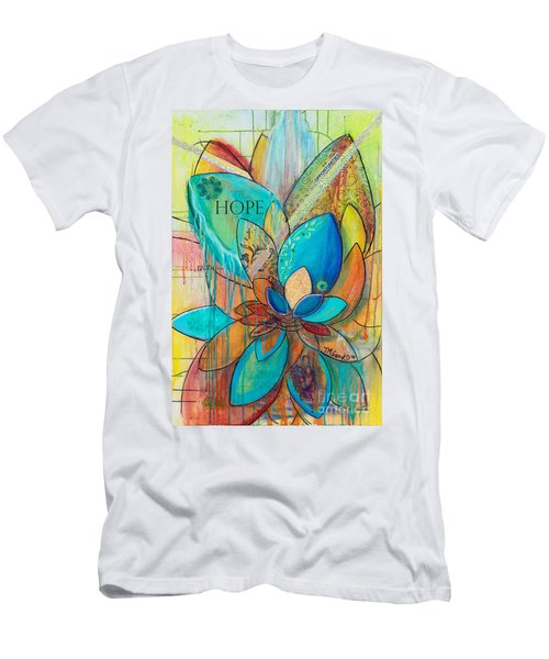 Spirit Lotus With Hope Men's T-Shirt (Athletic Fit)