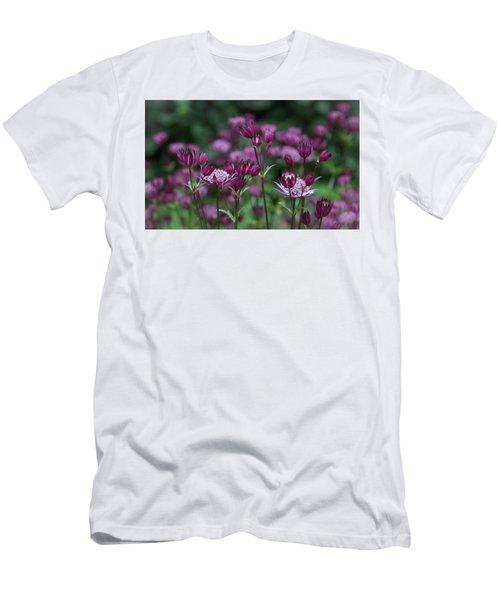 Majestic Magenta Men's T-Shirt (Athletic Fit)