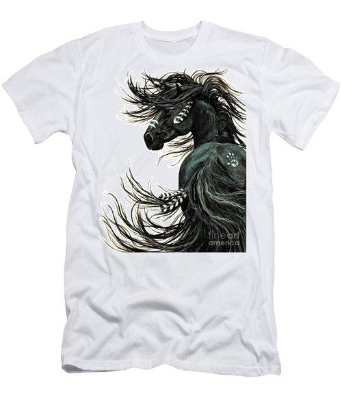 Majestic Spirit Horse Men's T-Shirt (Athletic Fit)