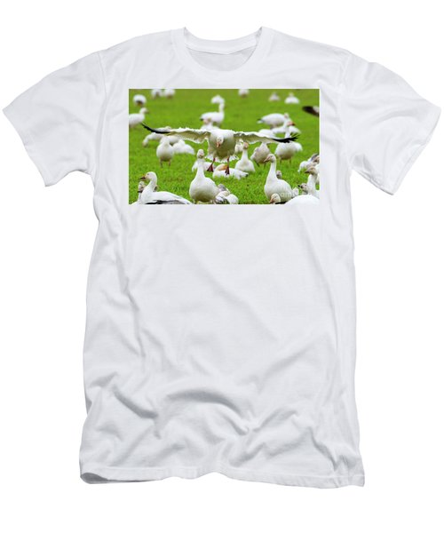 Men's T-Shirt (Slim Fit) featuring the photograph Make Room by Mike Dawson