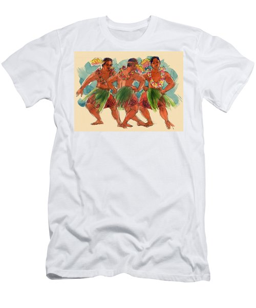 Male Dancers Of Lifuka, Tonga Men's T-Shirt (Athletic Fit)